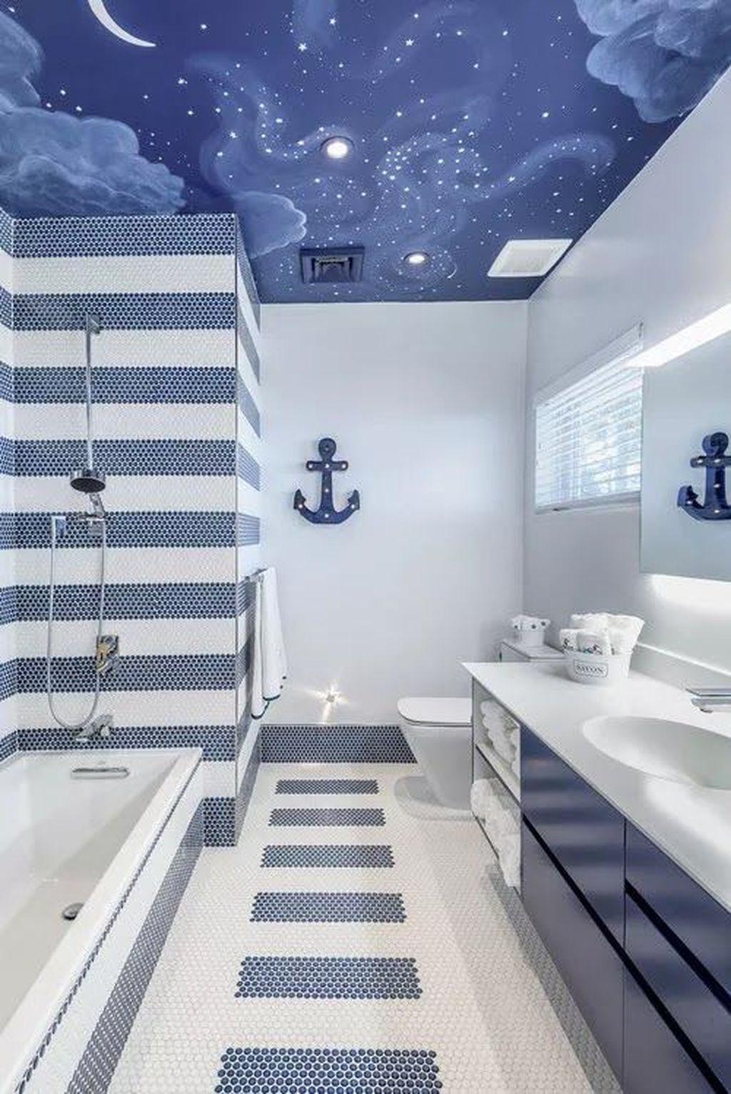 Ванная в морском стиле картинки